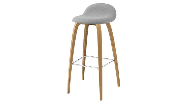 Hokery Gubi 3d Bar Stool Wood Base Mesmetric Concept Store